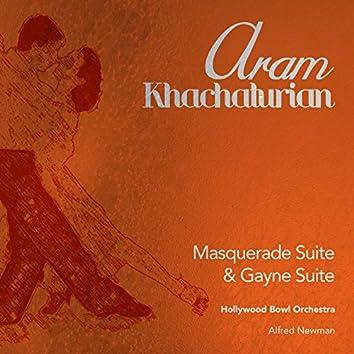 Aram Khachaturian: Masquerade Suite & Gayne Suite