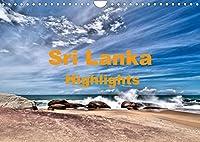 Sri Lanka - Highlights (Wandkalender 2022 DIN A4 quer): die Hoehepunkte einer Sri Lanka Rundreise (Monatskalender, 14 Seiten )