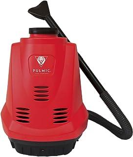 Pulmic Dragon 7 Power Espolvoreador a batería de Espalda, 7 kg, Rojo y Negro