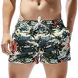 Arcweg Bañador Hombre Shorts de Baño Playa Poliéster Pantalon Traje de Baño Corto Hombre Deporte Secado Rápido Bañadores Natacion Ligero Moda Shorts