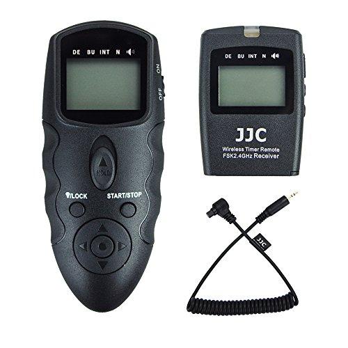 JJC disparador remoto temporizador mandos a distancia para Canon EOS 5D Mark IV III II 5D 6D 6D Mark II 7D 7D Mark II 1D 1D Mark IV III II 1DS 1DX