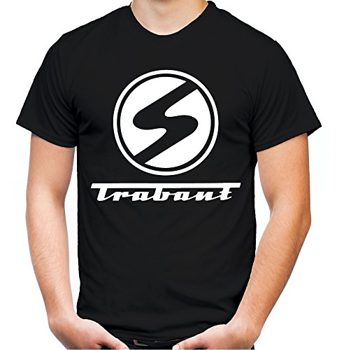 Trabant Männer und Herren T-Shirt | DDR Osten Simson Wartburg Trabi Geschenk | M1 (3XL, Schwarz)