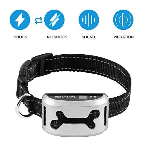 VegasDoggy 2018 Smart Chip Dog Shock Anti-Barking Collar