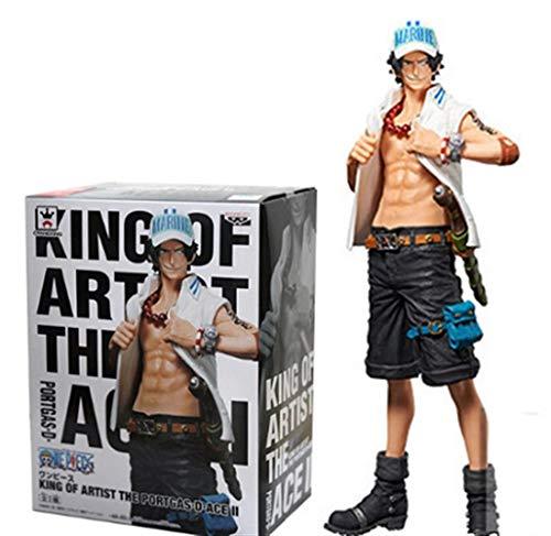 No logo JoJiJo Neue One Piece Figure Ace Figure Marine Uniform Style Anime Figur Action Figure