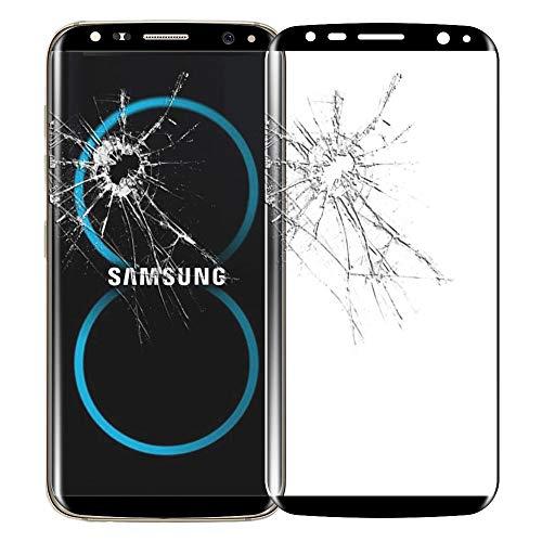 ebestStar - compatibel met Samsung Galaxy S8+ Screen Protector S8 PLUS Gebogen Gehard Glas Volledige bescherming anti-Shatterproof 9H 3D Bubble Free, Zwart [Telefoon: 159.5 x 73.4 x 8.1mm, 6.2]