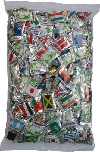 お徳用 世界の国旗 キャンディ 1kg