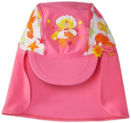 Preisvergleich Produktbild Playshoes Mädchen Mütze 460168 Badekappe,  Bademütze Meerjungfrau,  UV-Schutz nach Standard 801 und Oeko-Tex Standard 100,  Gr. 49,  Mehrfarbig (original)