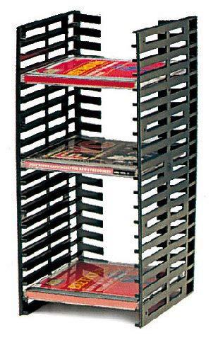 Range cd vertical - Pour : 20 CD - Hauteur : 320 mm - ITAR