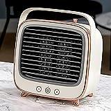 DWW Calentador de radiador eléctrico Pequeño Calentador de Sol Oficina Inicio Ahorro de energía Ahorro de energía Mini Calentador eléctrico Calentador de Escritorio Dormitorio Calentador de Espacio