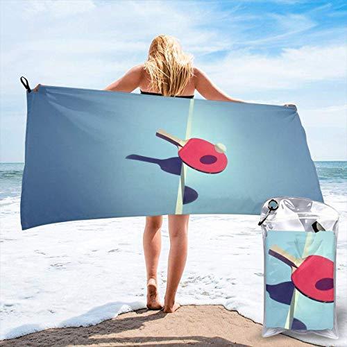 artyly Toallas de Tenis de Mesa Secado rápido Microfibra de Viaje Grande Baño Ligero Toallas de Playa para Camping, Senderismo y Uso doméstico