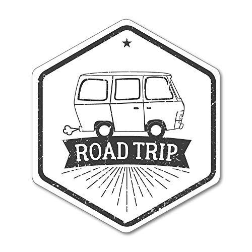 Road Trip Sticker Decal Vintage Waterproof Luggage World Travel