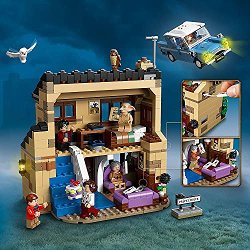 LEGO-75968-Harry-Potter-4-Privet-Drive-House-and-Ford-Anglia-Car-Toy-for-Kids-Set-with-Dobby-Figure-and-Dursley-Family