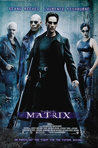 THE MATRIX MOVIE POSTER PRINT APPROX SIZE 12X8 INCHES by 12X8 INCHES