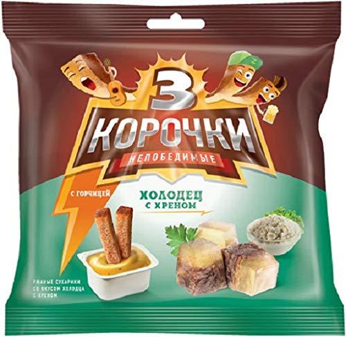 Salzzwieback mit Sülze- & Meerretichgeschmack und Senf Sausr 2x60g