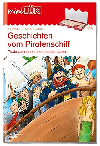 miniLÜK-Übungshefte: miniLÜK: 2./3. Klasse - Deutsch: Geschichten vom Piratenschiff