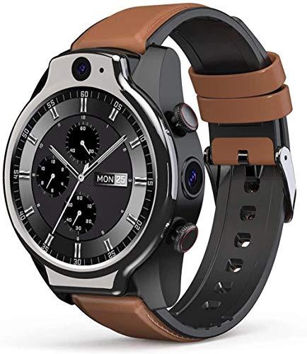 Reloj inteligente 4G Global IP68 impermeable pulsera inteligente 1.6 pulgadas pantalla redonda completa 4G+64G 8MP+5MP cámara dual 1100 mAh múltiples modos deportivos