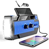 Best Am Radios - Emergency Crank Radio, Esky 4000mAh Solar Hand Crank Review