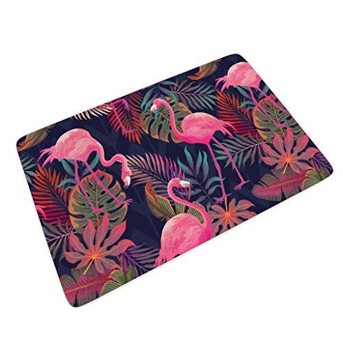 Rinvyintte Commercieel deurmatten voor vloermatten machinewasbaar/antislip perfecte kleur/grootte met antislip rubberen achterkant voor grijs