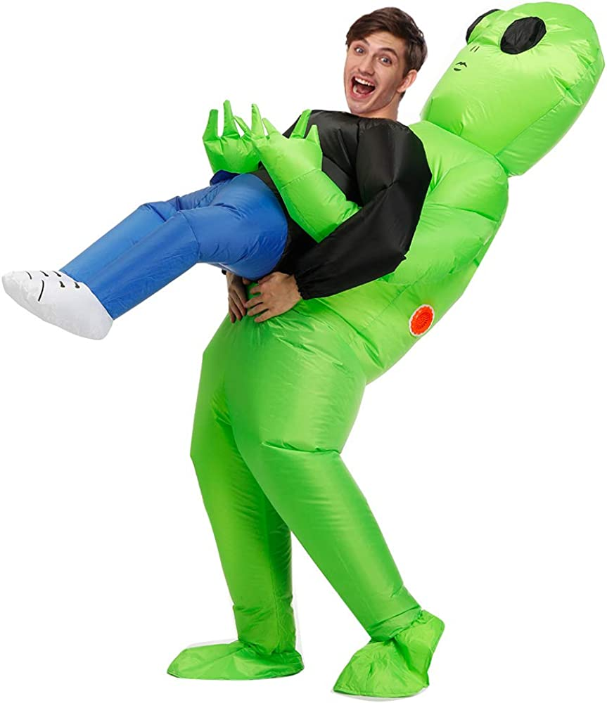 Decalare Inflatable Alien Costume For Adults Up online Popular products shopping Blow Funny