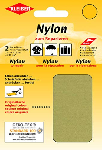 Kleiber + Co.GmbH Nylon-Flicken, beige