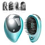 Electric Ionic Hairbrush Mini Anti-Static Scalp Head Massage...