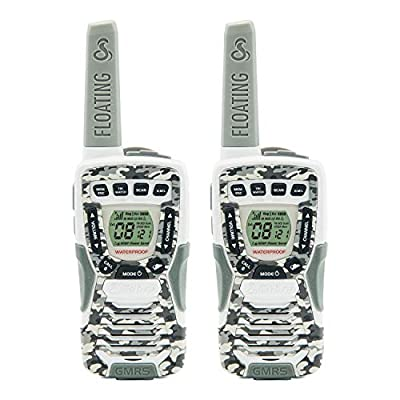 Cobra CXT1095FLTCW Walkie Talkies 37-Mile Two-Way Radios, Rechargeable (Camo White, Pair) by Altis Global Limited