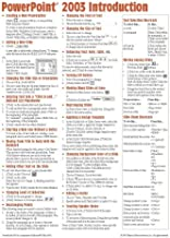 Microsoft PowerPoint 2003 Introduction Quick Reference Guide (Cheat Sheet of Instructions, Tips and Shortcuts - Laminated Card) by Beezix Inc. (2004-03-01)