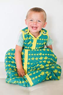 Baby deedee Sleep Nest Tee Baby Sleeping Bag, Duckies, Medium (6-18 Months)