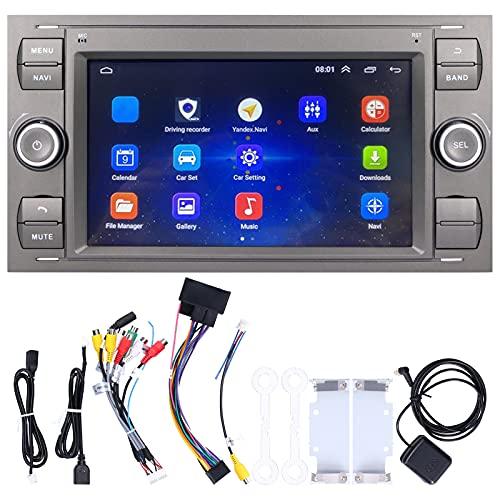 Pantalla De Navegación, Reproductor Multimedia Estéreo Para Automóvil De 7 Pulgadas, Navegación GPS, Wifi, Bluetooth 4.0, Pantalla Táctil HD Para Fusion 2006-2011(1 + 16G)