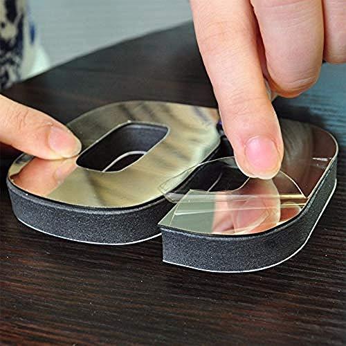 Wandklok Acryl Kwarts Klok 3D Spiegel Sticker Klokken Grote Huisdecoratie Diys Zwart-Zwart