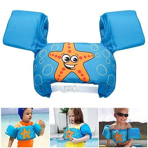 GEYUEYA Home Schwimmflügel Kinder, Kinder Schwimmhilfen Schwimmhilfe Passend für Kinder und Kleinkinder von 2-6 Jahre, 14-25kg, Schwimmflügel Schwimmweste Passend fürJungen und Mädchen