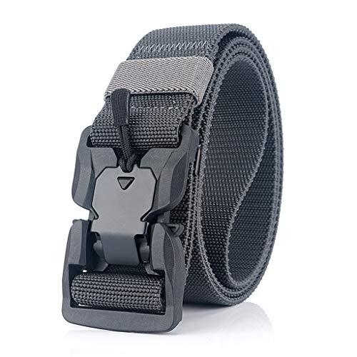 UXZDX Cinturón Relojamiento rápido Hebilla Cinturón Suave Real Nylon Accesorios Deportivos (Color : B)