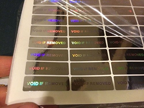 Hologram Warranty Void Security Stickers Tamper Evident (WVIR Labels) (1050...
