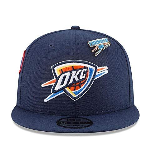 New Era Oklahoma City Thunder 2018 NBA Draft Cap 9FIFTY Snapback Adjustable Hat- Navy