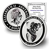 AU 2007 - Present (Random Year) Australian 1 oz Silver Koala Coin Brilliant Uncirculated with Certificate of Authenticity by CoinFolio $1 BU