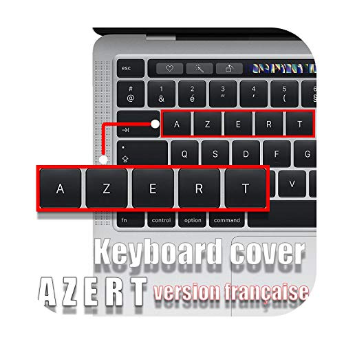 Keyboard Stickers for MacBook Air13 A1932 Keyboard Cover pro13 Keyboard case Laptop Accessories A2289 A2251A2159 in French AZERT-A2179 EU-