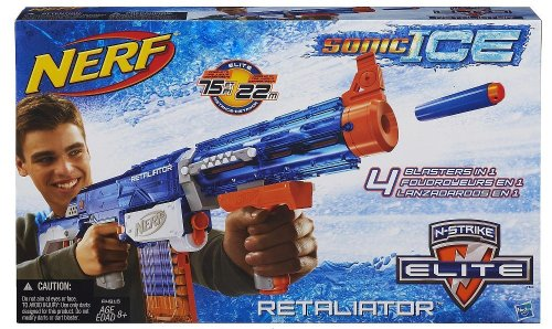 NERF N-Strike Retaliator Elite Sonic Ice