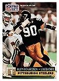Huey Richardson RC (Football Card) 1991 Pro Set # 744 NM/MT