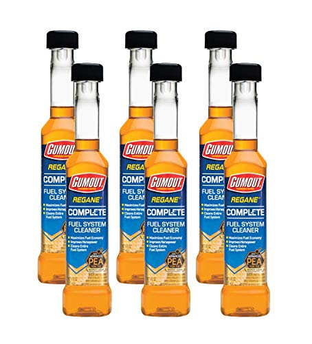Gumout 510014 Regane Complete Fuel System Cleaner, 6 oz. (Pack of 6)
