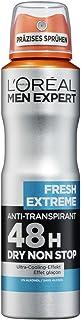 L'Oréal Paris Men Expert Fresh Extreme dezodorant w sprayu, 6 sztuk (6 x 150 ml)