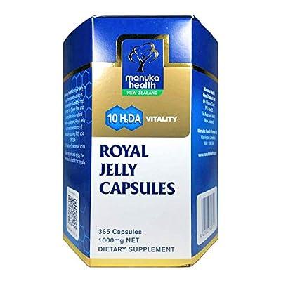 Manuka Health Royal Jelly, 365 Count