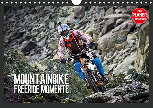 Mountainbike Freeride Momente (Wandkalender 2021 DIN A4 quer)