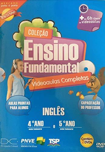 Coleção Ensino Fundamental Videoaulas Completas Inglês 4º Ano e 5º Ano