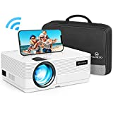 WiFi Beamer 4500 Lux, VANKYO Leisure 470 Wireless Beamer, Support 1080P Full HD Heimkino...