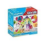 PLAYMOBIL City Life 70595 Fashion Girl mit Hund, Für Kinder von 5 - 12 Jahren