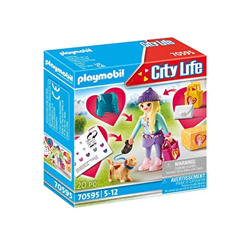 PLAYMOBIL City Life 70595 Chica Fashion