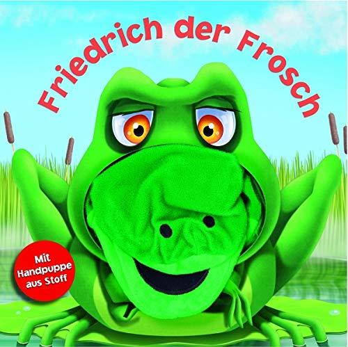 Handpuppenbuch: Friedrich der Frosch