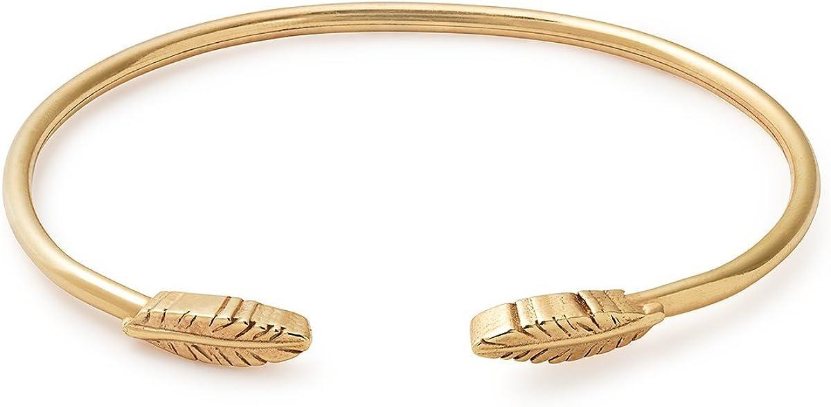 Alex and Ani Feather Cuff Bracelet