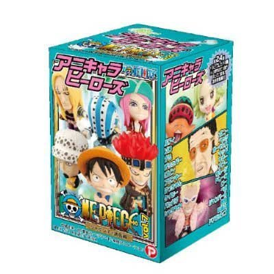 Anime Characters Heroes One Piece vol.7 shabondy hen normal 24 species set (japan import)