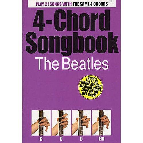 4-Chord Songbook: The Beatles. Partitions pour Paroles et Accords